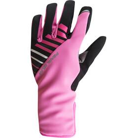 PEARL iZUMi Elite Softshell Gel Gloves Women screaming pink
